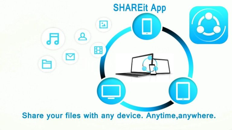 Cara Transfer File dari PC ke HP Android Dengan Aplikasi Share It