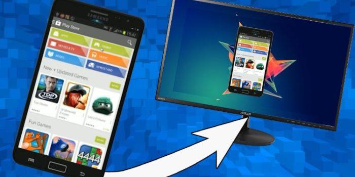 Cara menampilkan layar Android di PC dengan kabel USB